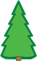 Large Notepad - Fir Tree