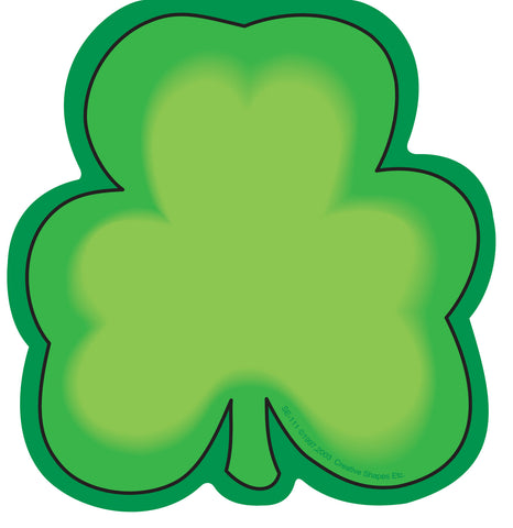Picture of Large Notepad - Shamrock