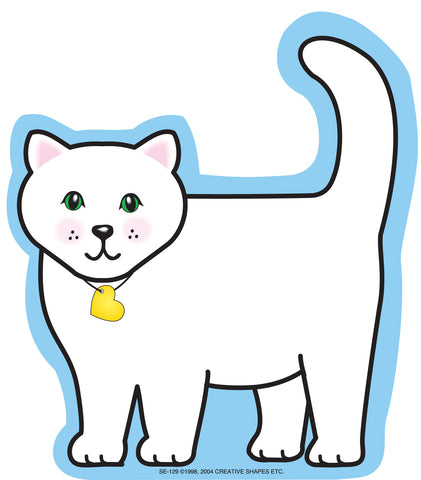 Picture of Large Notepad - Cat