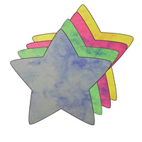 Small Marble Assorted Cut-Out - Star - Creative Shapes Etc.
