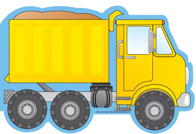 Large Notepad - Dump Truck