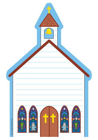 Picture of Large Notepad - Church