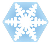 Large Notepad - Snowflake