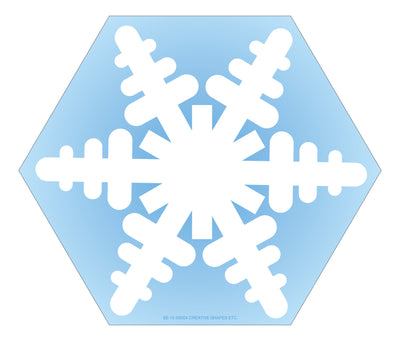 Large Notepad - Snowflake - Creative Shapes Etc.