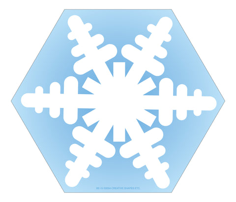 Picture of Large Notepad - Snowflake