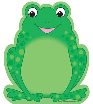 Large Notepad - Frog - Creative Shapes Etc.