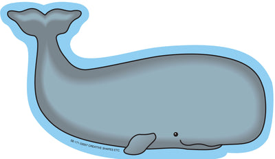 Large Notepad - Whale - Creative Shapes Etc.