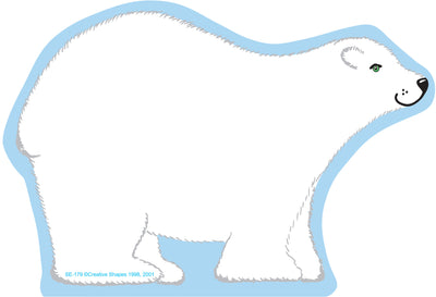 Large Notepad - Polar Bear - Creative Shapes Etc.