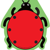 Large Notepad - Ladybug - Creative Shapes Etc.