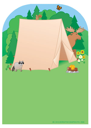 Large Notepad - Tent - Creative Shapes Etc.