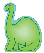 Large Notepad - Dinosaur