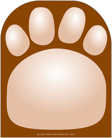 Picture of Large Notepad - Paw Print