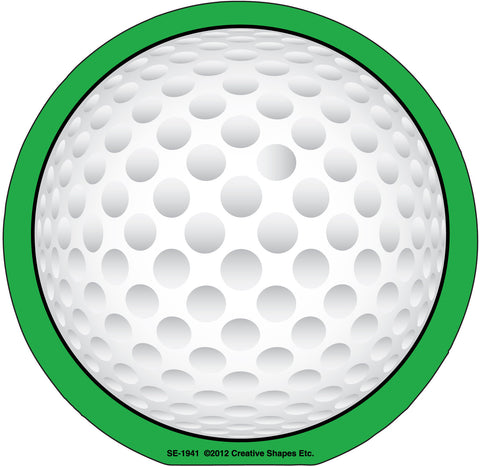 Picture of Large Notepad - Golf Ball