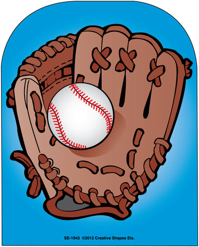 Picture of Large Notepad - Baseball Glove