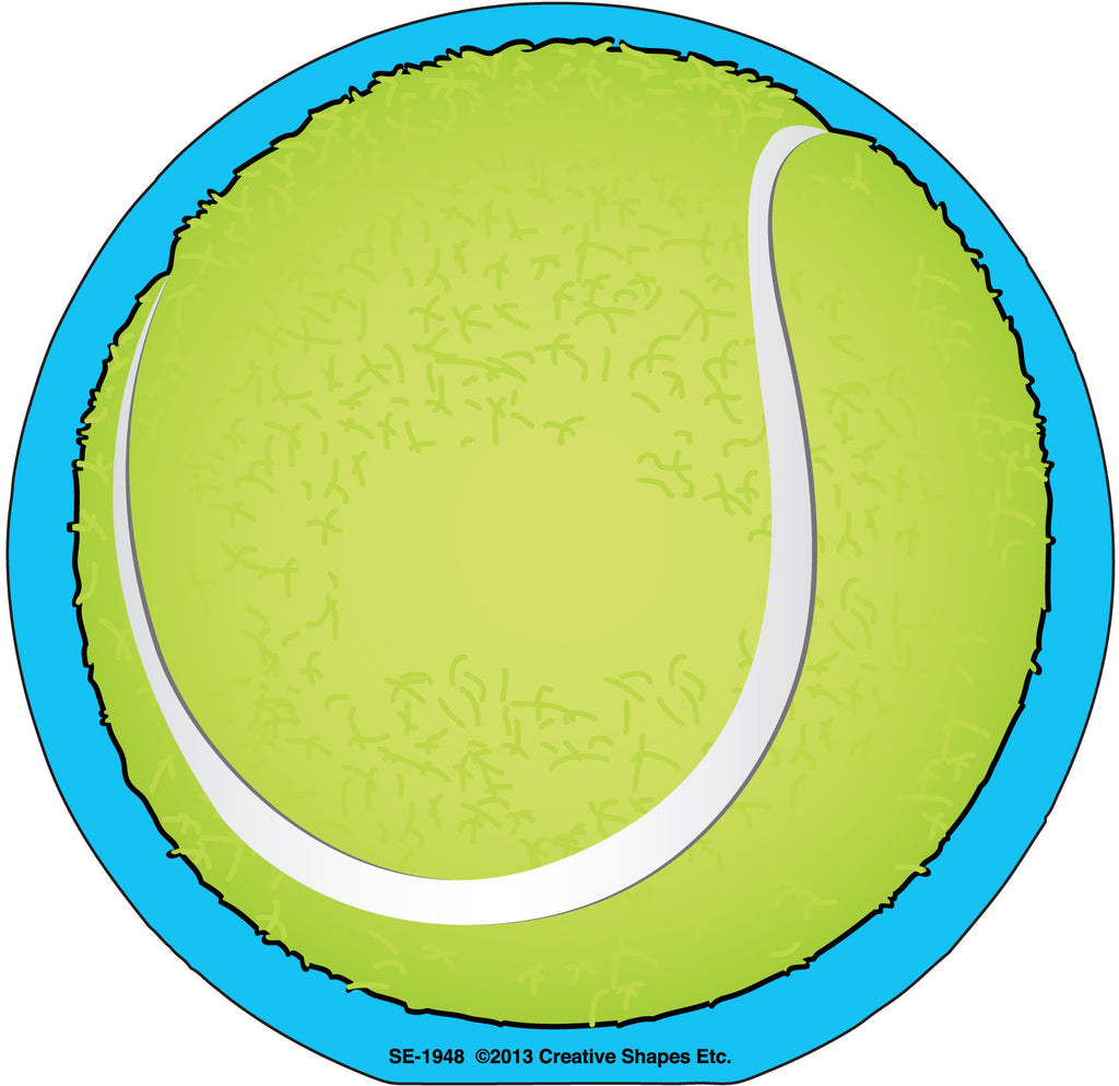 Large Notepad - Tennis Ball - Creative Shapes Etc.
