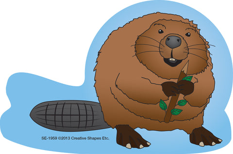 Picture of Large Notepad - Beaver