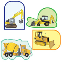 Large Accents - Construction Variety Pack - Creative Shapes Etc.