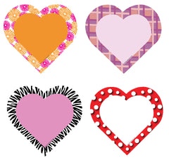 Large Accents - Hearts Variety Pack