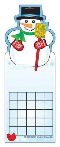 Picture of Personal Incentive Chart - Snowman