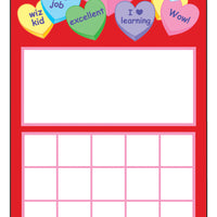 Personal Incentive Chart - Heart - Creative Shapes Etc.