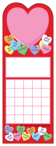 Picture of Personal Incentive Chart - Heart
