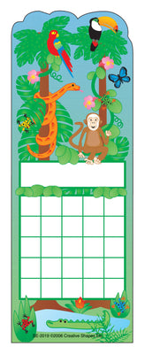 Personal Incentive Chart - Rainforest - Creative Shapes Etc.