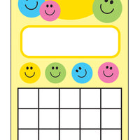 Personal Incentive Chart - Smile - Creative Shapes Etc.