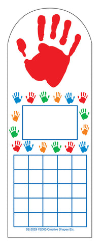 Picture of Personal Incentive Chart - Hands