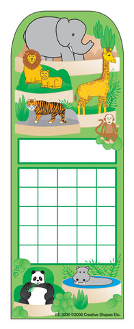 Picture of Personal Incentive Chart - Zoo