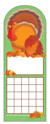 Personal Incentive Chart - Turkey - Creative Shapes Etc.