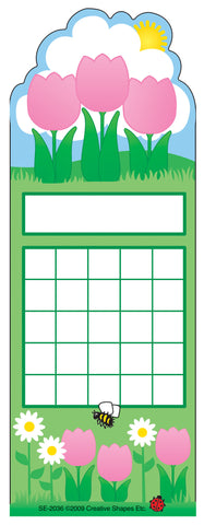 Picture of Personal Incentive Chart - Spring Flower