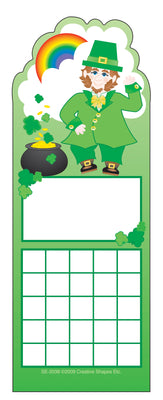 Personal Incentive Chart - Leprechaun - Creative Shapes Etc.