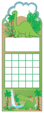 Picture of Personal Incentive Chart - Dinosaur