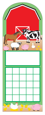 Picture of Personal Incentive Chart - Farm Animals