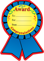 Large Notepad - Ribbon Award - Creative Shapes Etc.