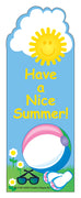 """From Your Teacher"" Bookmarks - Nice Summer - Creative Shapes Etc."