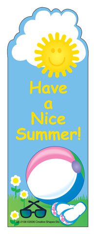 "Picture of ""From Your Teacher"" Bookmarks - Nice Summer"