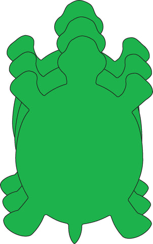 Picture of Small Single Color Cut-Out - Turtle