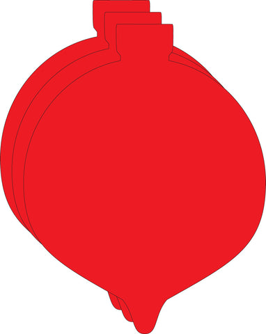 Picture of Small Single Color Cut-Out - Ornament