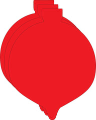 Small Single Color Creative Foam Cut-Outs - Ornament (SE-7314)