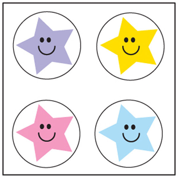Incentive Stickers - Star - Creative Shapes Etc.
