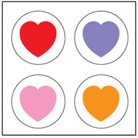 Incentive Stickers - Heart - Creative Shapes Etc.