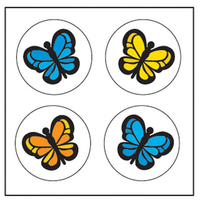 Incentive Stickers - Butterfly - Creative Shapes Etc.