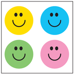 Incentive Stickers - Smile (Pack of 1728) - Creative Shapes Etc.