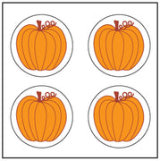 Incentive Stickers - Pumpkin - Creative Shapes Etc.