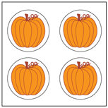 Incentive Stickers - Pumpkins (Pack of 1728) - Creative Shapes Etc.