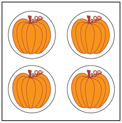 Picture of Incentive Stickers - Pumpkin