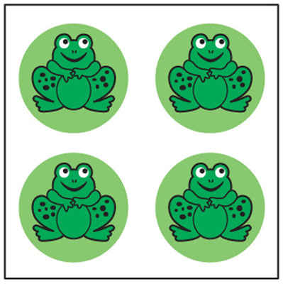 Incentive Stickers - Frog - Creative Shapes Etc.