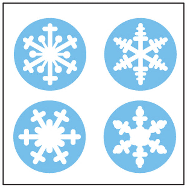 Incentive Stickers - Snowflake - Creative Shapes Etc.