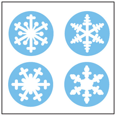 Picture of Incentive Stickers - Snowflake